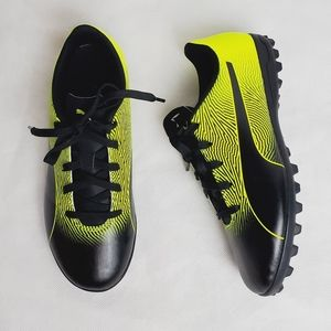 Puma lace up soccer  sneakers
